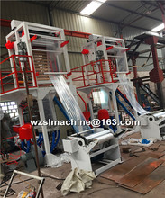 Full automatic hot sale High speed High output Plastic PE film blowing machine