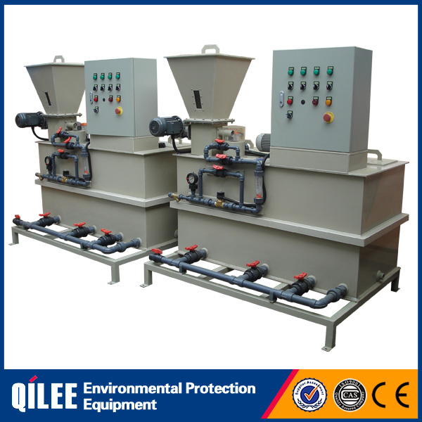 Dry chemical dosing device powder dosing system