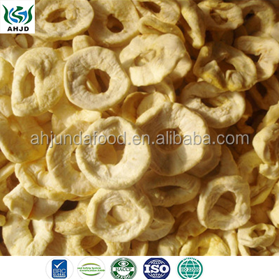 High Quality Best Price Dried Apple Rings AD Dehydrated Round Sliced Apple Dried Apple Snacks