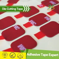 High Precision Die cut double side adhesive tape circle
