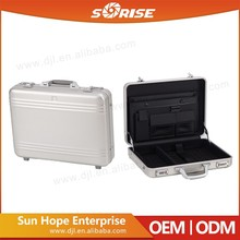 Sunrise Commercial Upgrade Quality Briefcase Men Makeup Aluminum Tool Box Briefcase