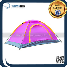 Girls Pink Camping Equipment Portable Hiking Tent