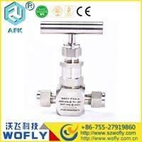 6000PSI solenoid needle valve