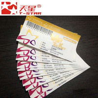 event printing ticket airline boarding pass
