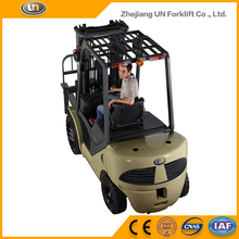 China UN 3 Ton Big Capacity ISUZU Engine Diesel Forklift Price With CE Certificate