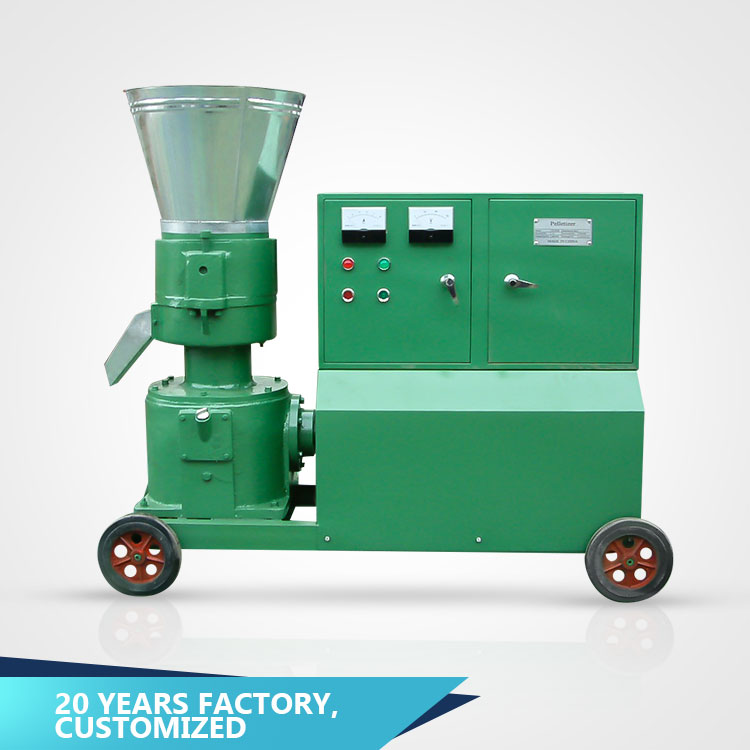 Flat die grass leaf rice bran straw wheat straw biomass fuel coconut fiber buy wood pellet making machine