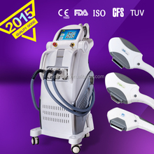 2015 kes IPL shr hair removal beauty machine led light for skin whitening