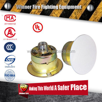 concealed home fire sprinklers