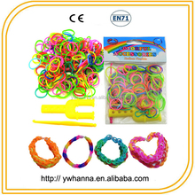 party supplies DIY Latset Hot Crazy Fun Cheap Mixed color loom bands wholesale