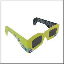 Professional customization master image 3d solar eclipse paper glasses