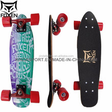custom 2017 New style 100% canadian maple blank skateboard deck