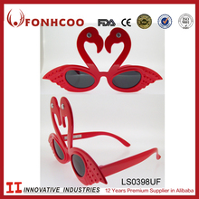 FONHCOO China Supplier Top Grade Attractive Red Bird Shaped Party Favors Sunglasses