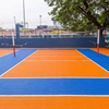 Chinese manufacturer Cheapest Outdoor Interlocking Plank Vinyl Wood Plastic PVC Flooring basketball court