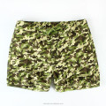 OEM Man camouflage shorts camo print breathable fabric man beach shorts