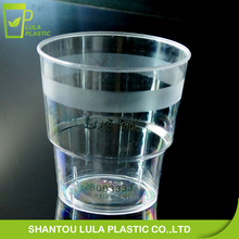 7OZ disposable clear plastic glass/PS cup