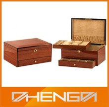 HOT SALE Factory Price custom made-in-china wood craft oriental jewelry box (ZDS-SJF041)
