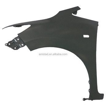 REPLACEMENT AUTO BODY PARTS FRONT CAR FENDER 2015 OEM LH 60261-T5A-JOOZZ / RH 60211-T5A-JOOZZ FOR HONDA FIT JAZZ WITH LAMP HOLE