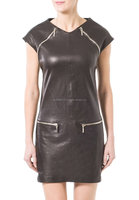 Good Prices Hot Quality Stylish Women leather Dress Model