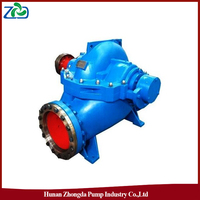 ZHONGDA S Type Single-stage Double-Suction 44m Axially Split Casing Centrifugal Submersible Slurry Pump 350S44