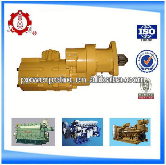 Matching diesel turbo scroll compressor motor