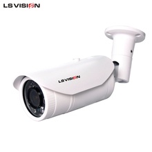 LS VISION High Quality P2p Network Full HD Color Night Vision 5 Megapixel Starlight IP Camera
