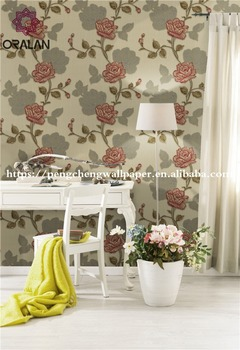 heatproof high quality european style wallpaper new design wall coating