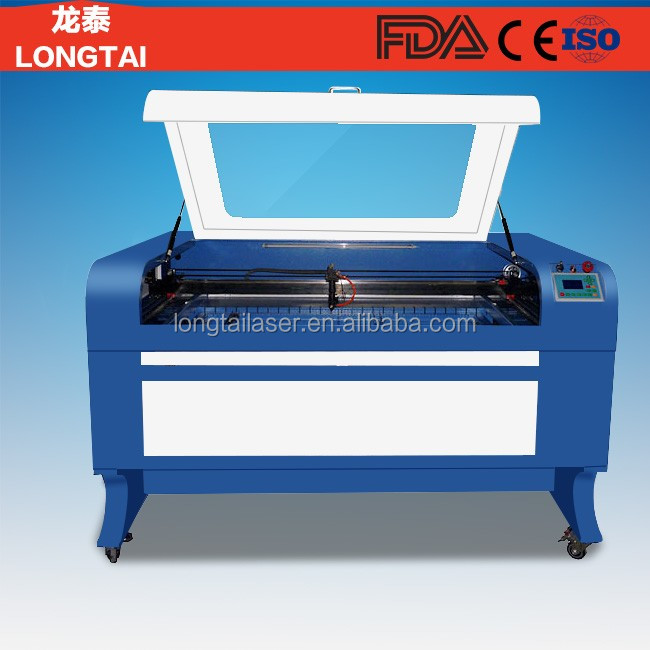 high precision leather fabric laser cutting machine with water chiller
