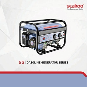 New Design gasoline portable generator, air cooled open type generator for home use