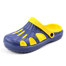Comfortable summer men home slippers EVA clogs sandals