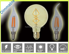 Dimmable 8W E14 E27 B22 Filament LED Bulb