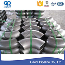 pipe fittings 90 degree long radius elbow
