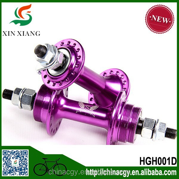 Fixed gear bike fli-flop hubs/China wholesale high quality aluminium alloy hubs