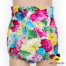 Summer Flower Printed Baby Girl Free Panties Infant Diaper Type Cotton Bloomer