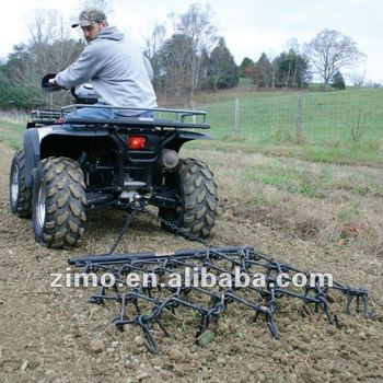 ATV Harrow Rake