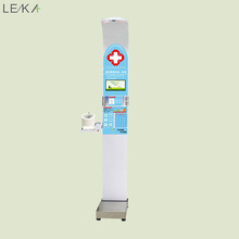 Advertising Screen LCD Display BMI Fat Measuring Machine Body Analysis Scale