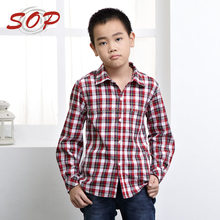 Latest fashion new model shirts blouse designs for kids boys