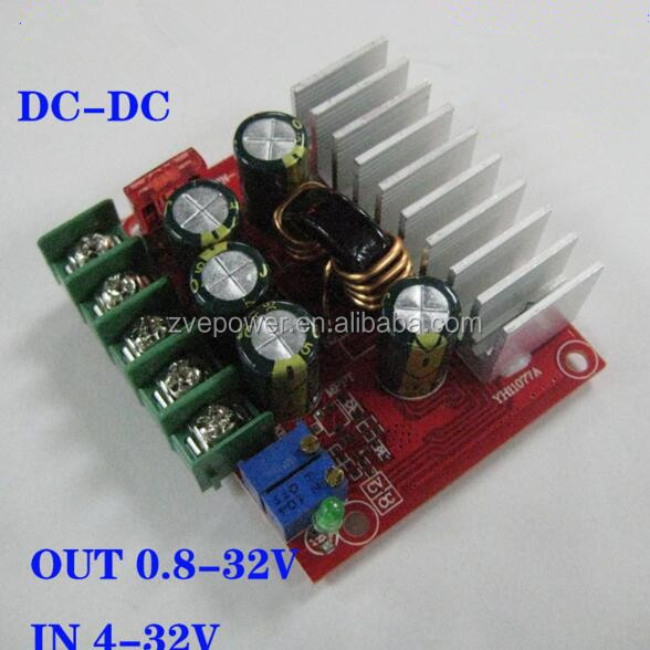 Non-isolated Auto Step-Up Step-Down power module DC-DC Converter adjustable 4-32V to 0.8-32V for Car Regulator Power