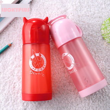 350ml lovely cartoon plastic drinking bottle portable sport water bottle for kids