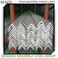 Best sell 347 stainless steel angle bar