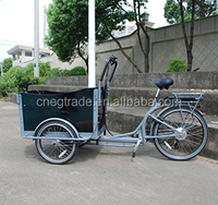 CE Certification and 200 - 250W Power electric 3 wheel bike /cargo bike