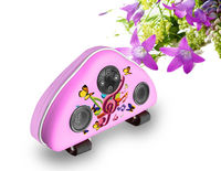 portable bicycle speaker cases solar for iphone ipod
