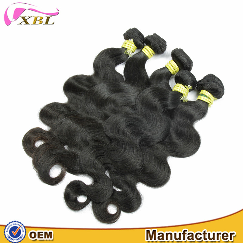 overseas brazilian temple cheap hair black pearl weave