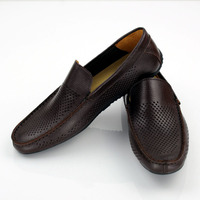 latest design perforated breathable shoes men cheap