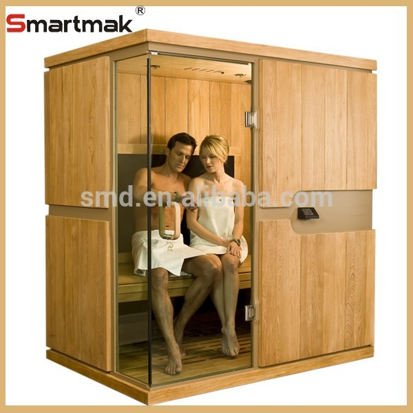 Smartmak 4 people Home Living Room Furniture Far Infrared Slimming Sauna Room