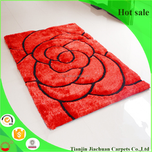 china manufactural cheap 3 d beautiful designs floral design wall to wall carpet