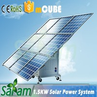 Portable 1.5KW 220V Off Grid Solar Power System