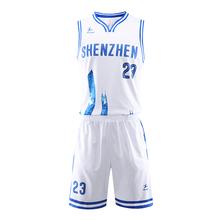 Healong Benutzerdefinierte Sublimation Reversible Basketball Jersey Uniform Basketball Shirt Design