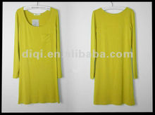 OEM, casual cotton lady dress, t-shirts ,women clothing ,appreal ,clothes