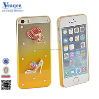 Veaqee 2014 custom classical pc cover with diamond for iphone 5s