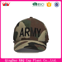 Heigh quality military ARMY style camouflage baseball cap